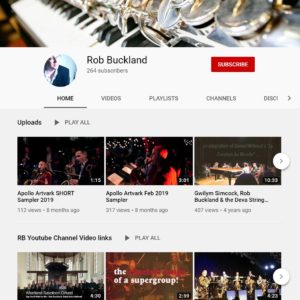 YouTube Channel: Rob Buckland