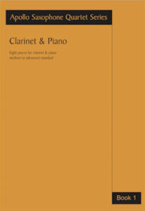Work: Clarinet & Piano Book 1