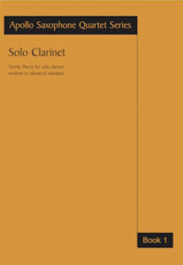 Work: Clarinet Solos Book 1