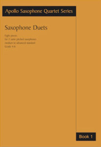 Work: Saxophone Duets Book 1