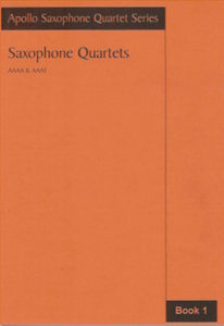 Work: Saxophone Quartets Book 1