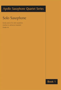 Work: Saxophone Solos Book 1