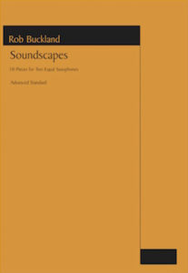 Work: Soundscapes (saxophone duet)