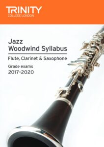 Trinity Jazz Woodwind Syllabus cover